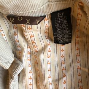 Roxy Corduroy Blazer in Cream